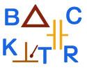 Zeichen und Buchstaben