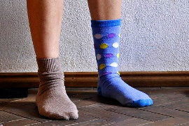 Wo ist der passende Socken?