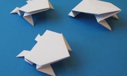 Origamifrösche